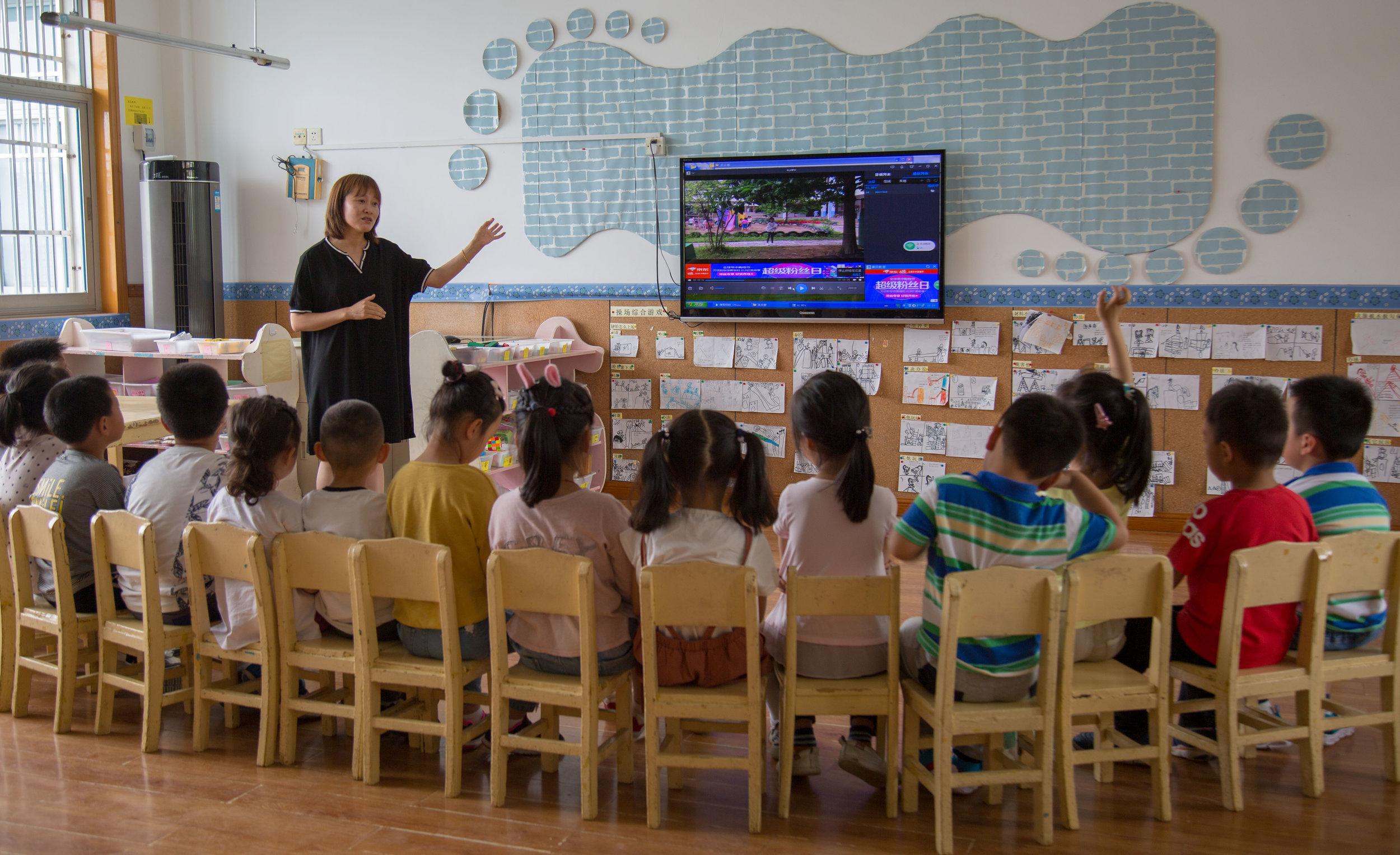 Play sharing at an Anji Play school
