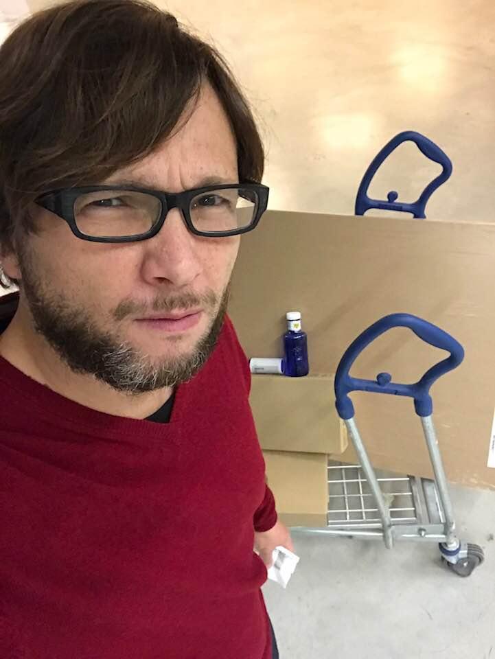 Fiel en Ikea.