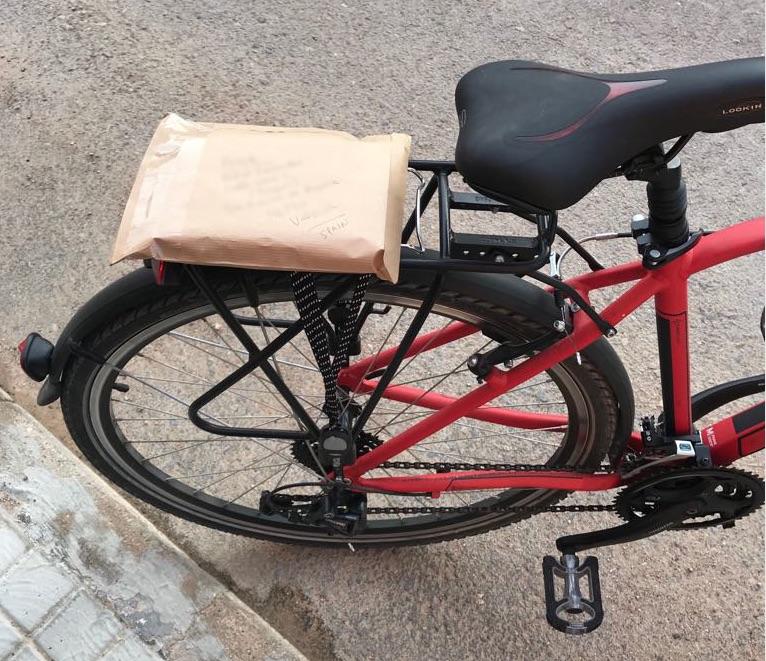 Mi bicicleta.
