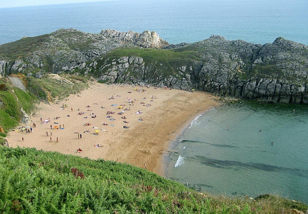 Playa de Somocueva, en Cantabria.