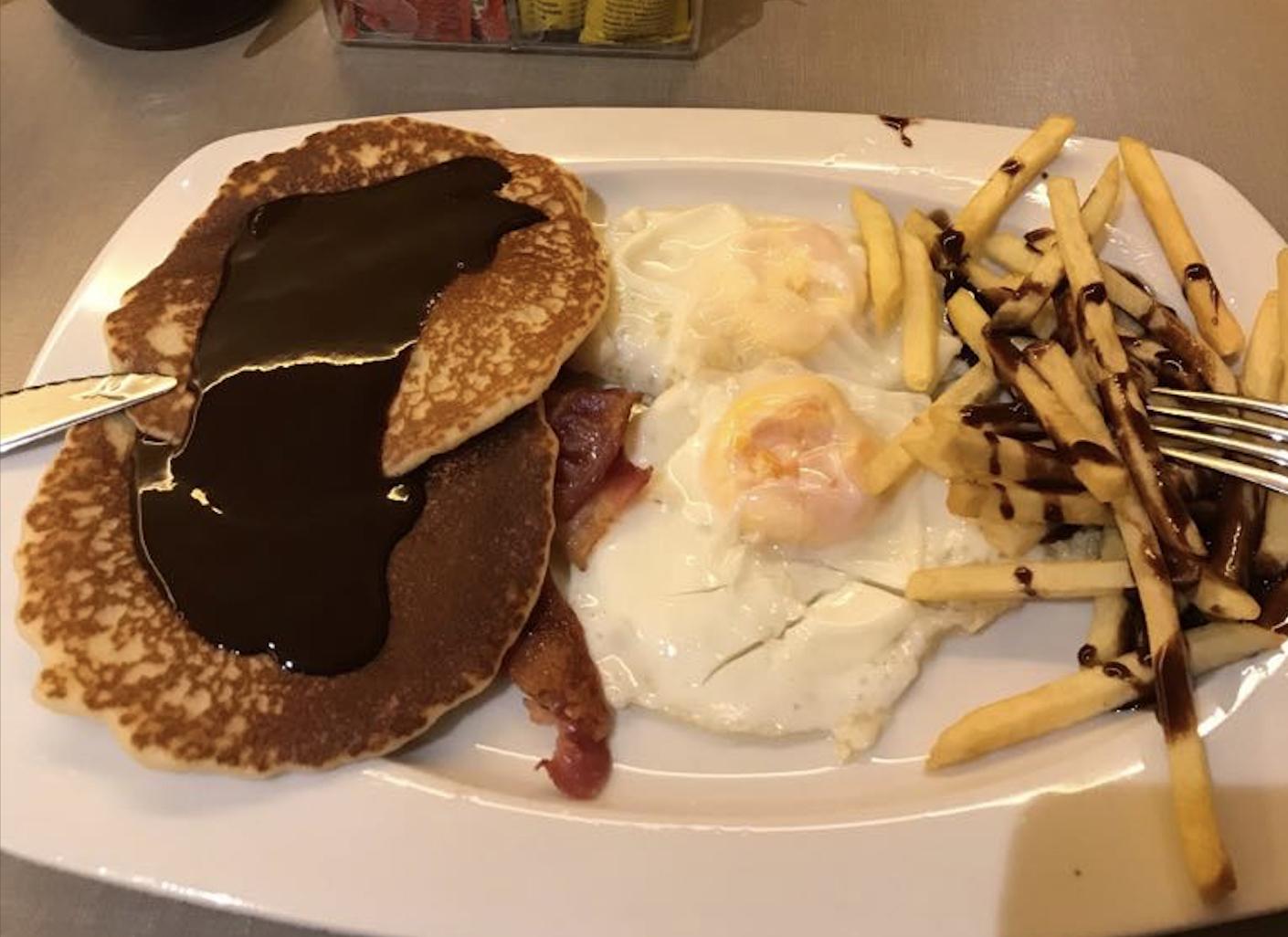 Mi desayuno.