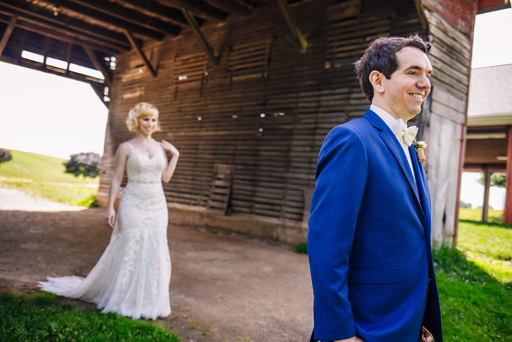 brielle-davis-events-photography-by-brea-linganore-winery-james-sarah-wedding-bride-and-groom-approaching-first-look.jpg
