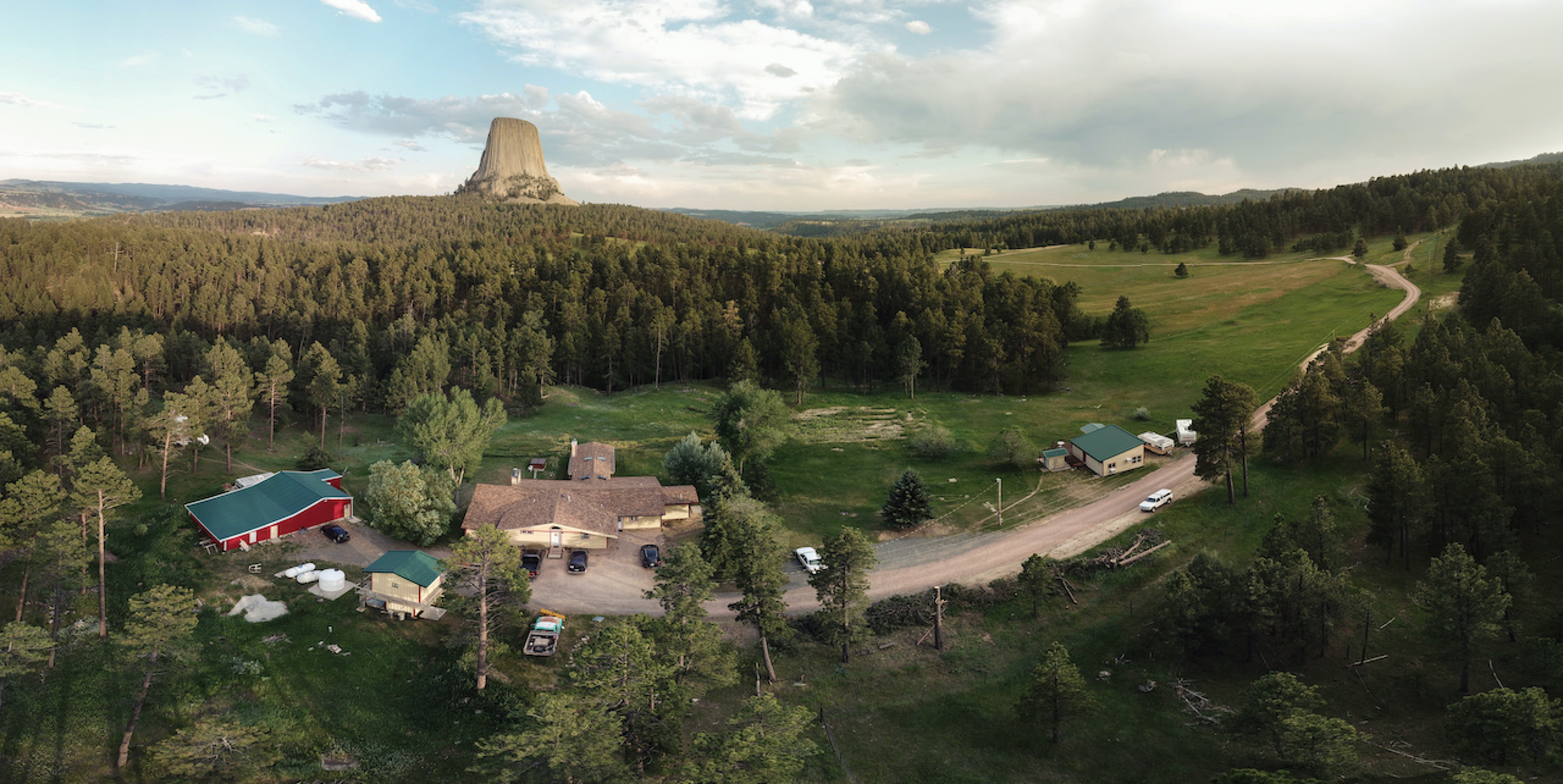 Sandwiched between Devils Tower National Monument and 50,000 acres of ranch land, Devils Tower Lodge radiates eccentricity powered by the climbing legend Frank Sanders.