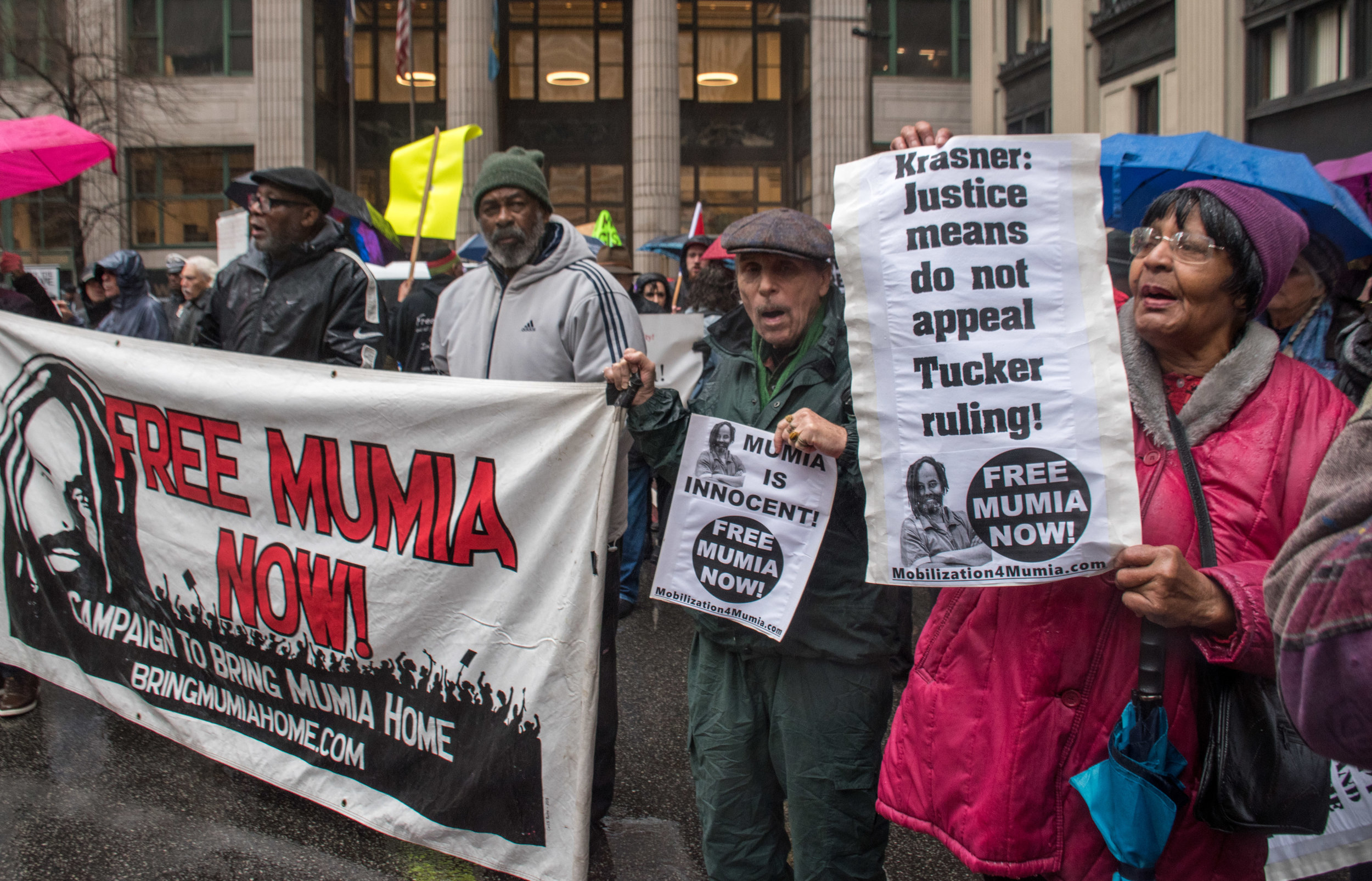 Jan 5 Peoples Constitutional Protest Party for Mumia's Freedom