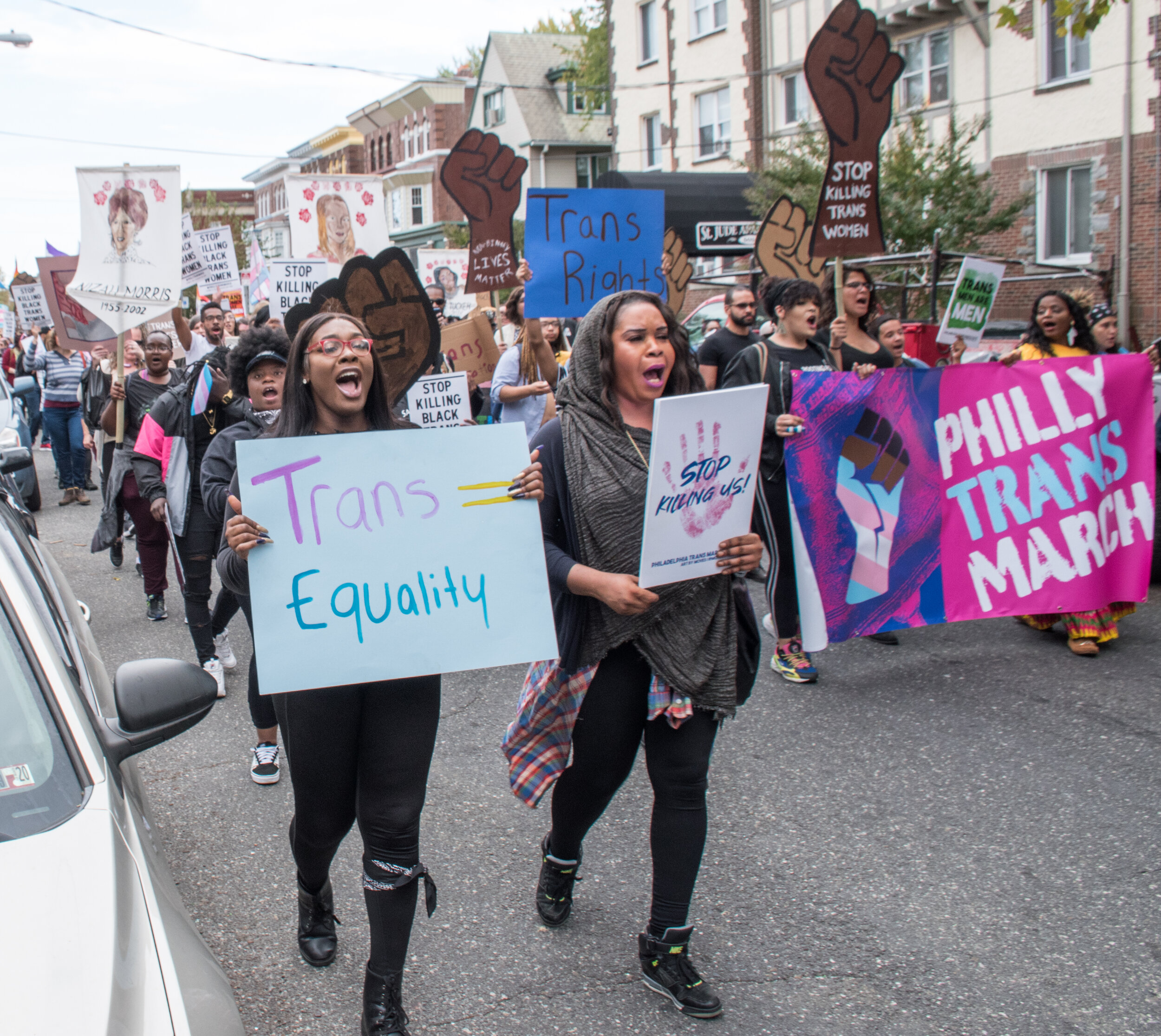 Oct 12, 2019 Philly Trans March