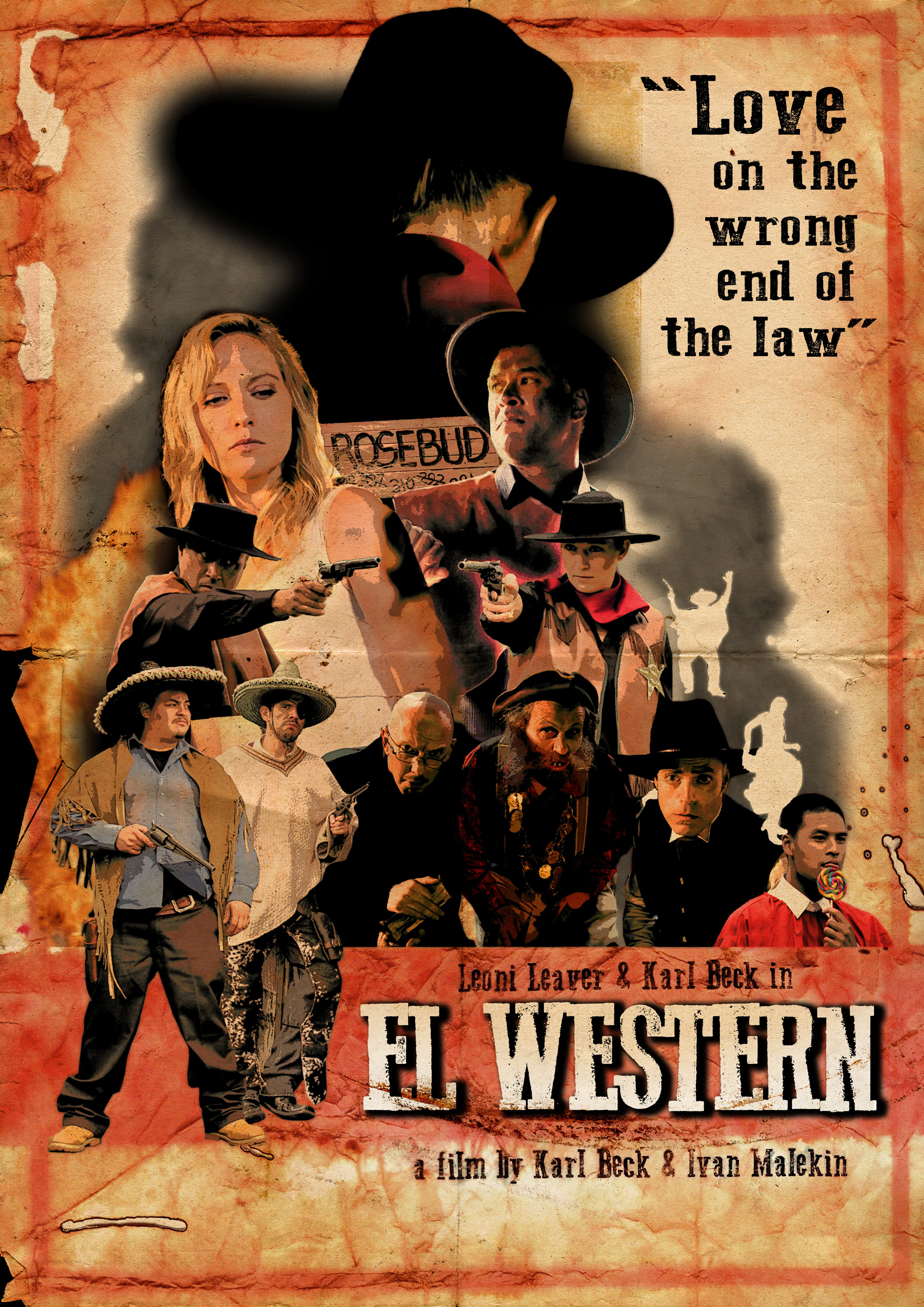 In the Wild West a mismatched but love-struck pair hurtle towards a high-noon showdown. - El Bandito is the meanest Mexican in the West and he has the town of Rosebud in a right fright. Only the mysterious Sheriff Dan dares stand against the outlaw.But something is amiss. Dan smells ... nice. Bandito is kind of ... handsome. Could this be love?One thing is for sure, only one man will be left standing.