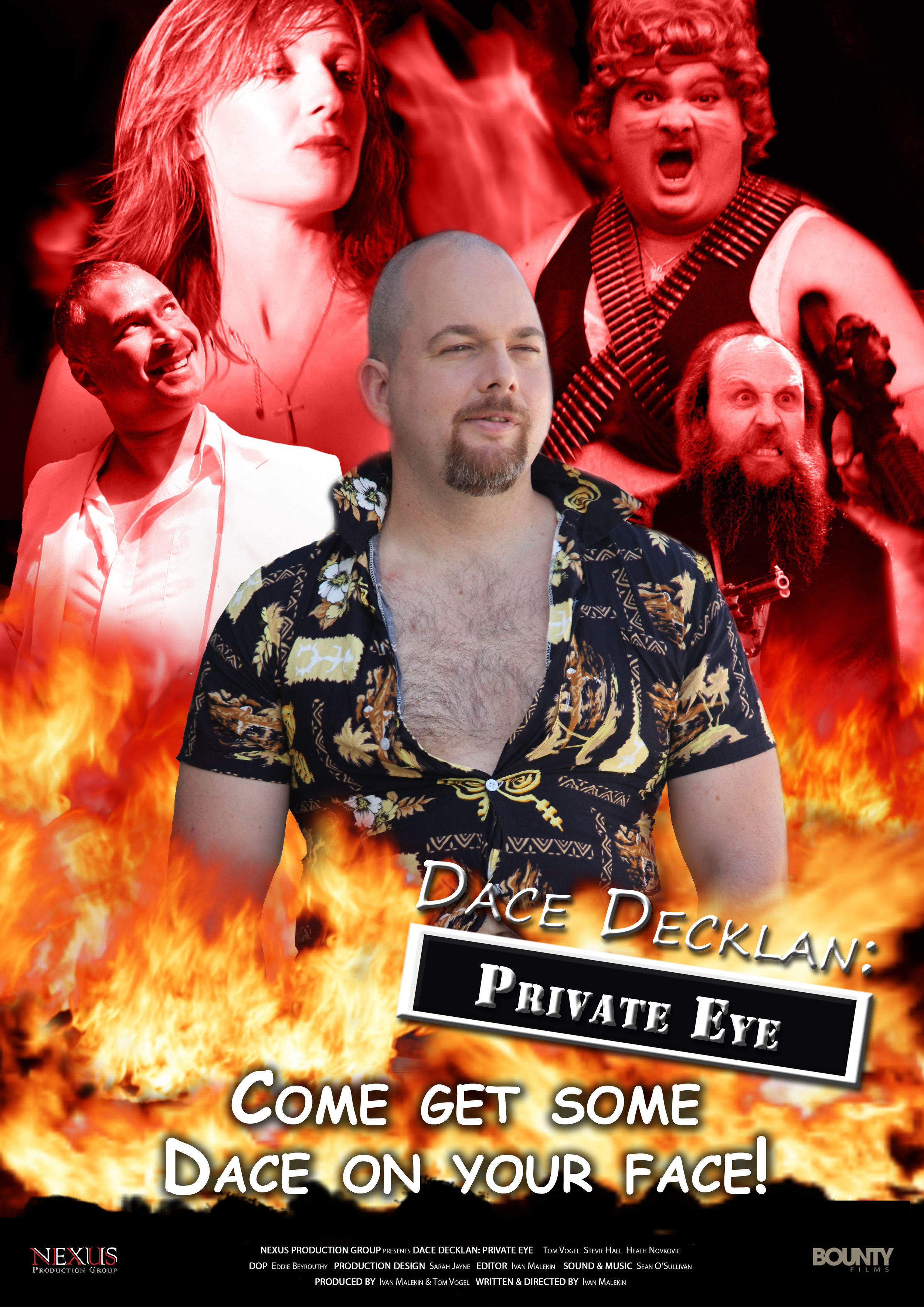 Dace is on the case!Uncensored. Unrestrained. Unleashed! - Oozing with love and lust and a whole lot of blood, and full of animation, absurdity, and comic style violence, Dace Decklan: Private Eye is an out of control, politically incorrect romp.