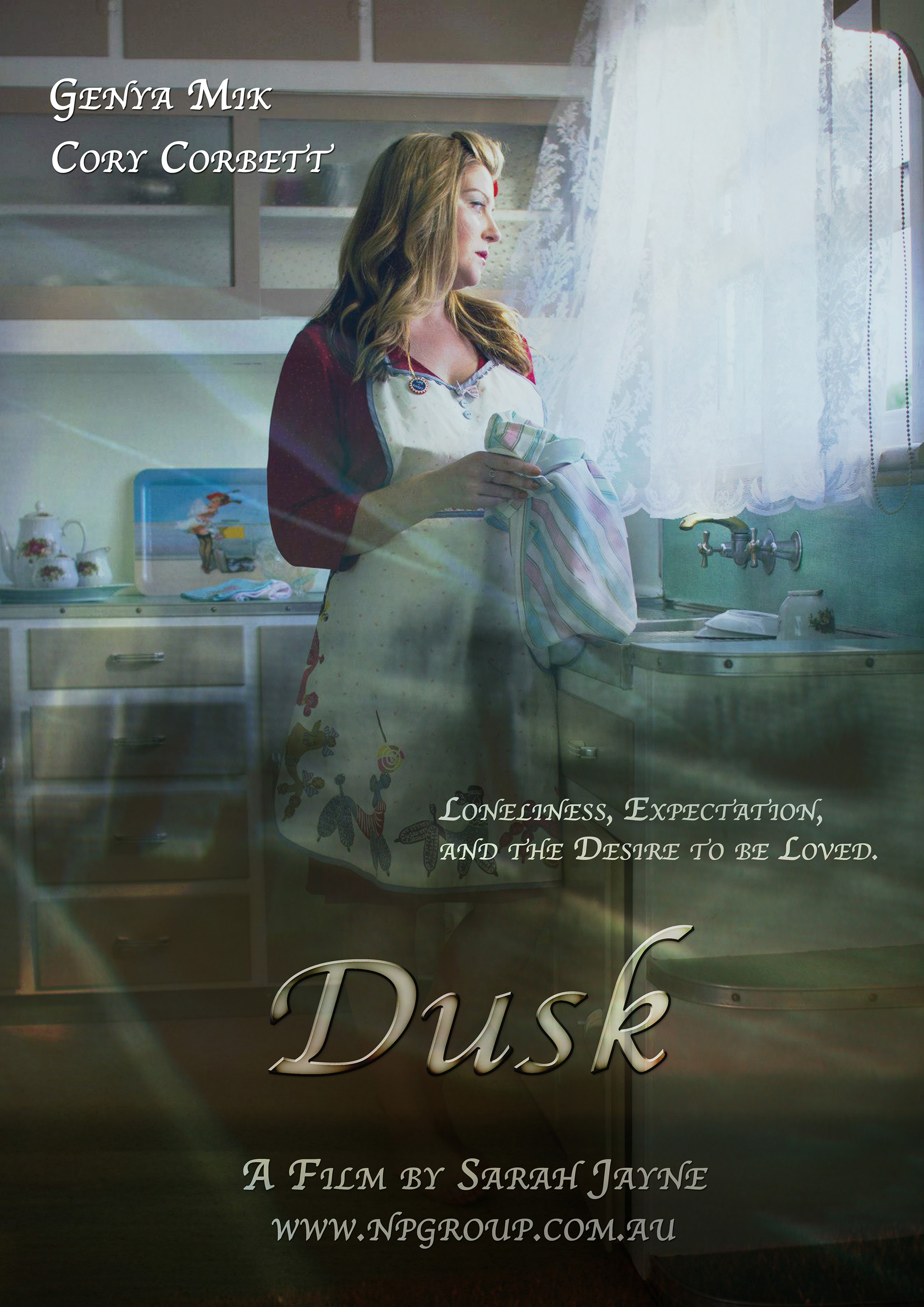 A disconnected &lonely woman struggles to fit society's mould - Dusk is an exploration of self image, self worth, the basic human need to connect.