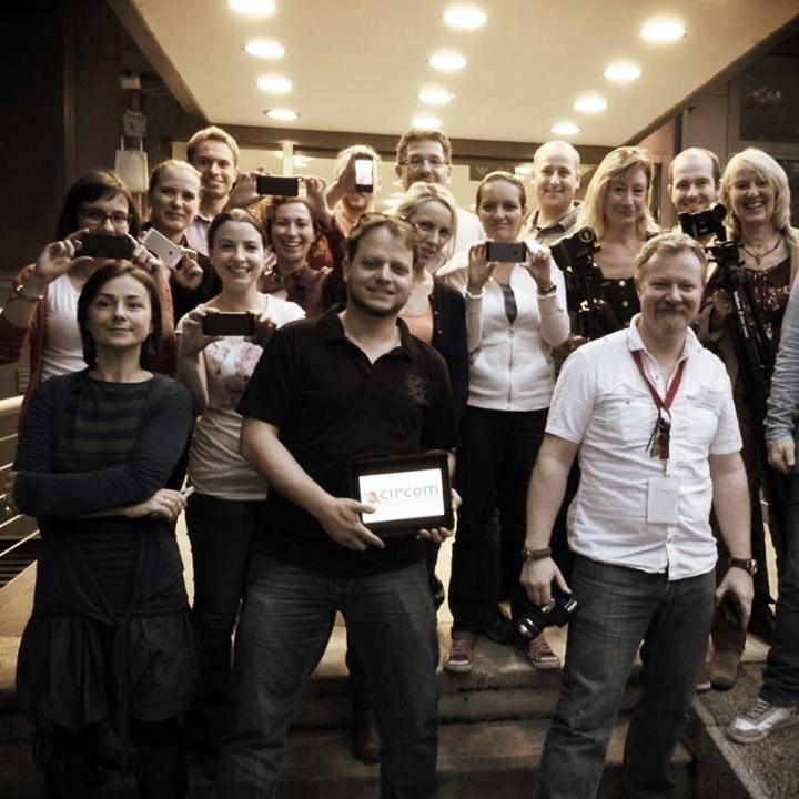 Mobile Journalism (MoJo) course for Circom Regional, Budapest.