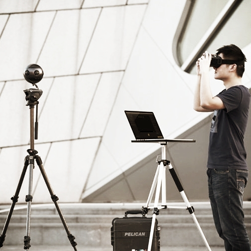 Insta360 PRO 8K 360 camera with 4K livestreaming