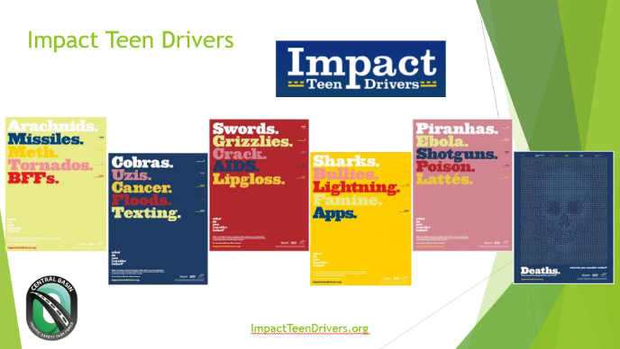 Alison reviewed her experiences using Impact Teen Drivers, and other tools focused on teen traffic safety, as a presenter at the 2019 Lifesavers Conference.