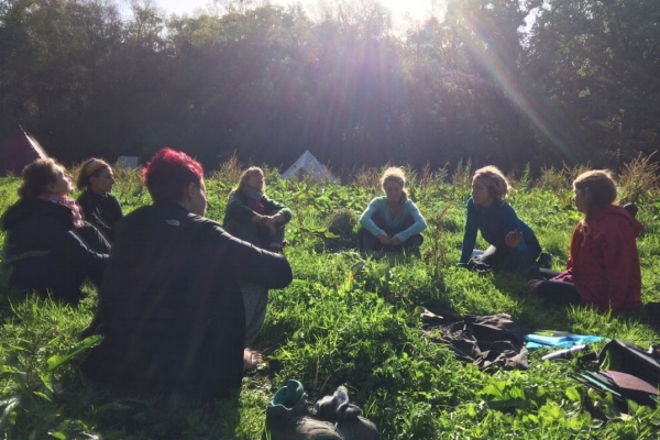 Way of Nature Women's Retreat, 2017 and 2018 - Set in the unspoilt beauty of the Dart Valley. Five days of exploring reconnection and relaxation. At the heart of the process was a 24 hour 'solo' – a period of time all alone in Nature. This is a rich and often unforgettable exercise, practiced by people throughout time.