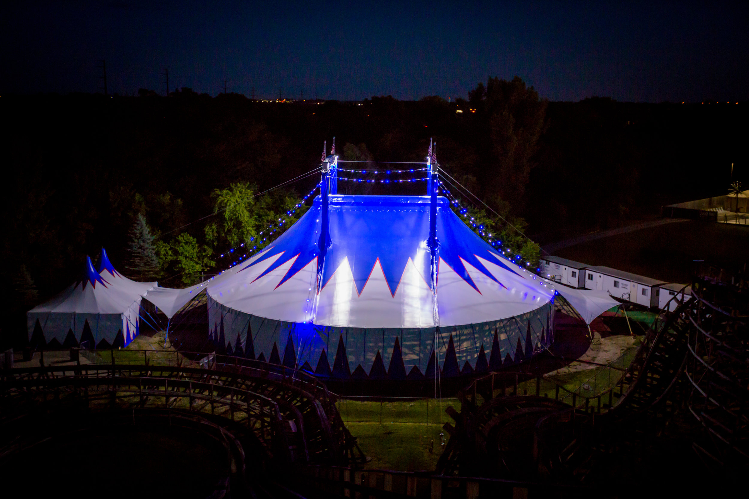 Circus Tent Frontal View