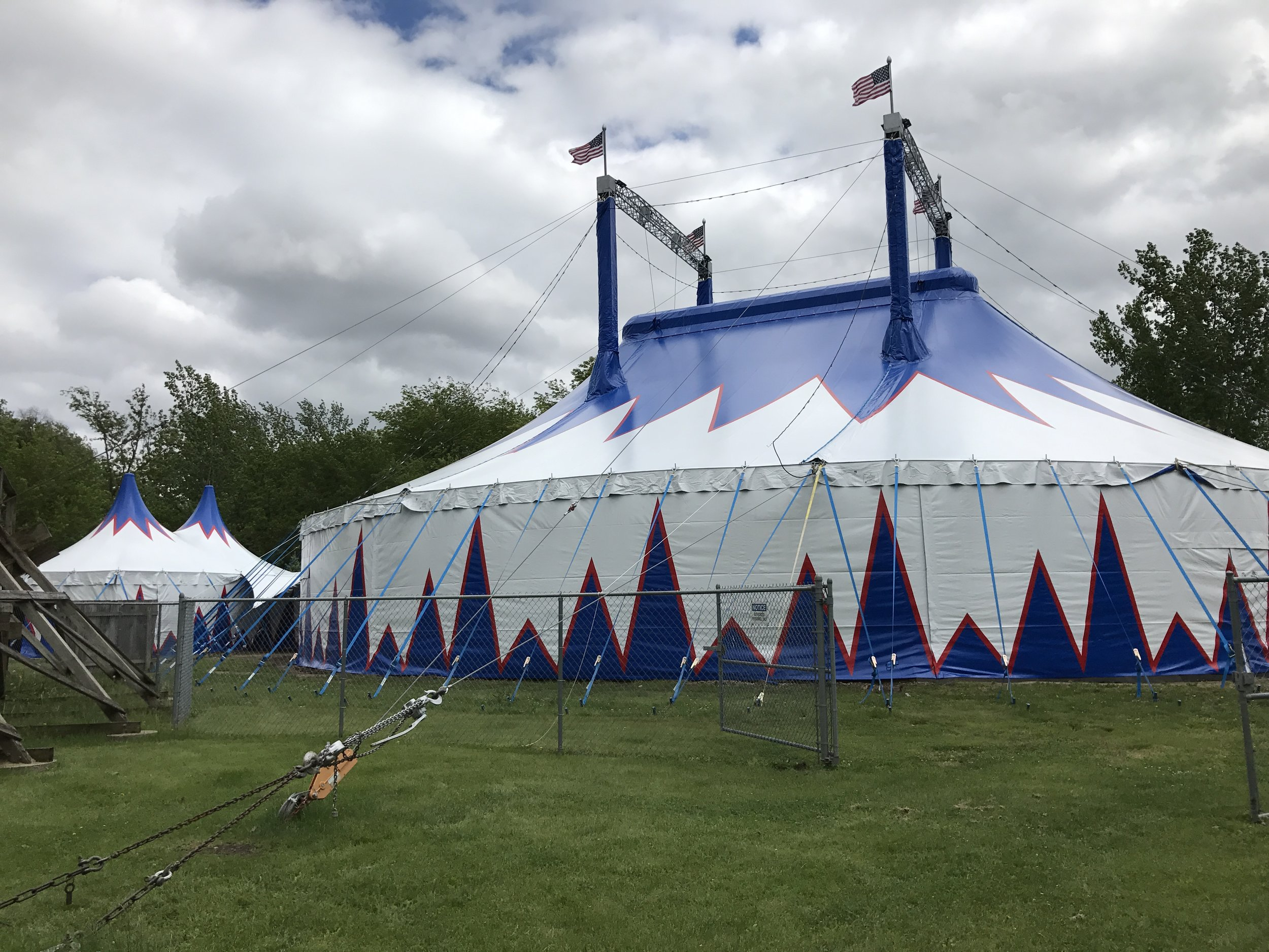 Circus Tent Side View