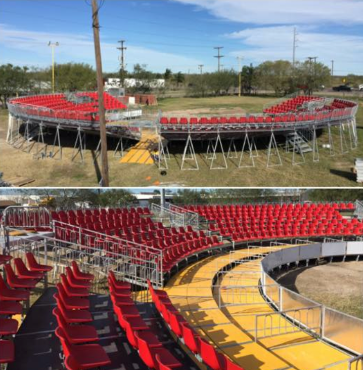 Grand Stand Outdoor Seating