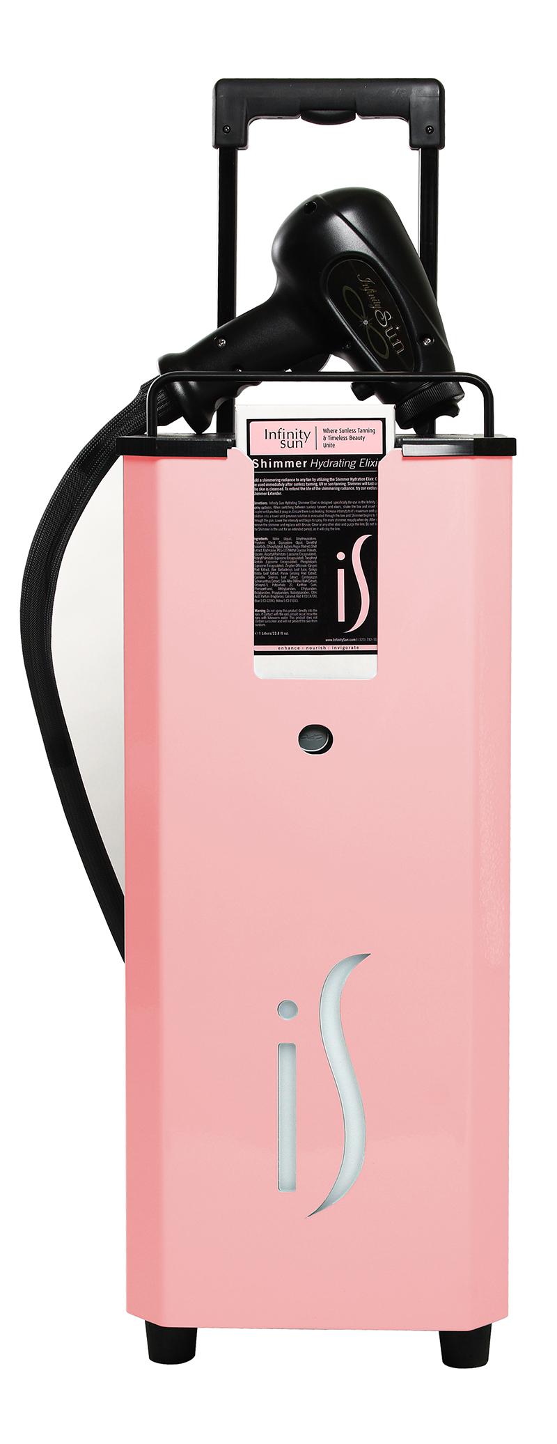 pink tanning machine