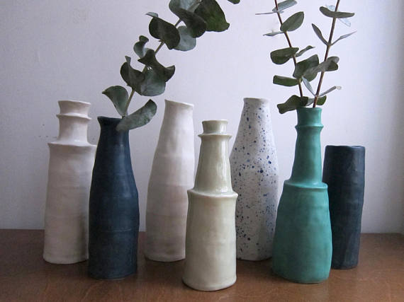 Atelier Petit  - One-of-a-kind and small-batch pottery in fluid, organic forms handmade by Sarah Petit in Detroit.