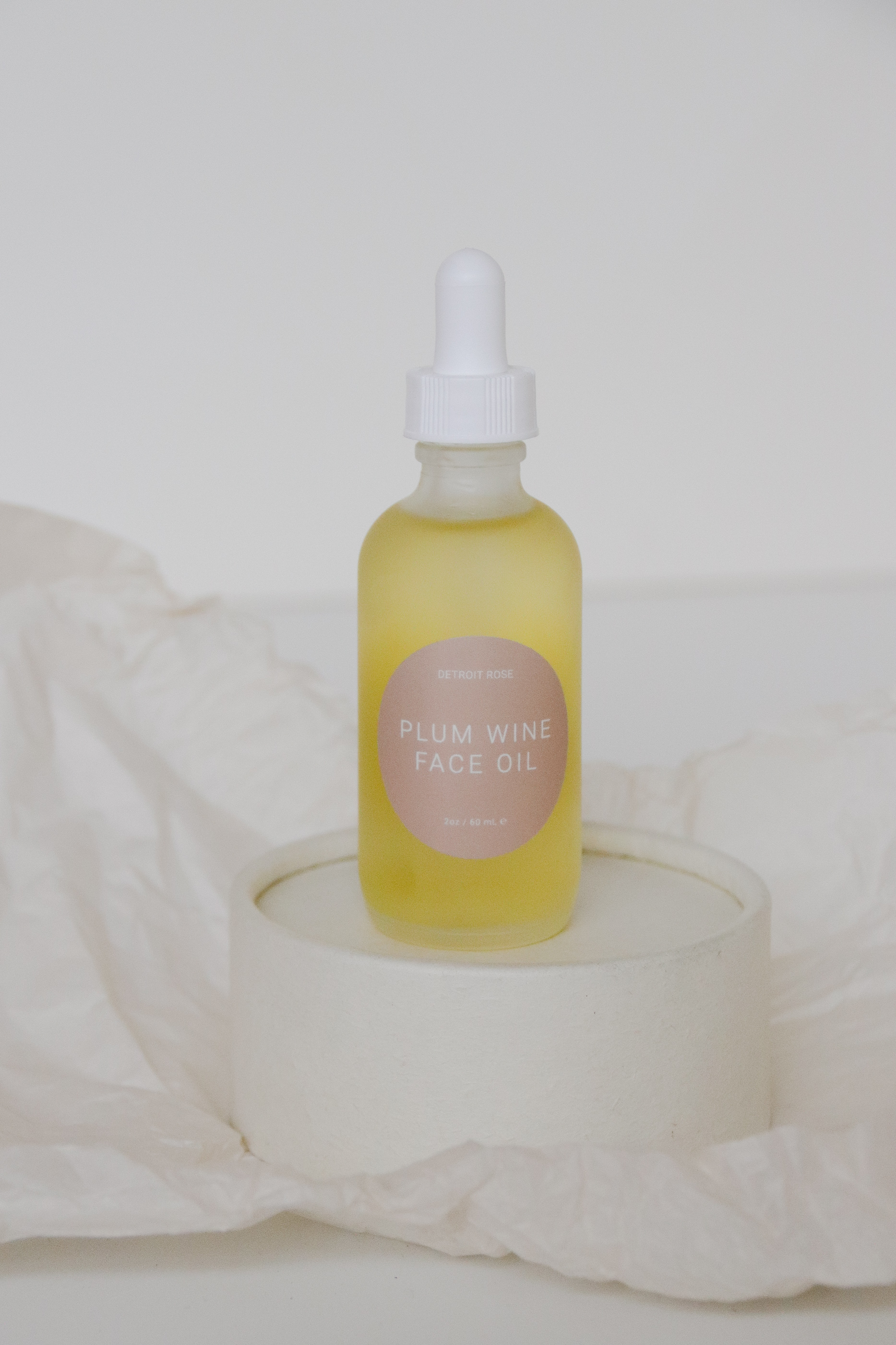 Detroit Rose Plum Wine Face Oil