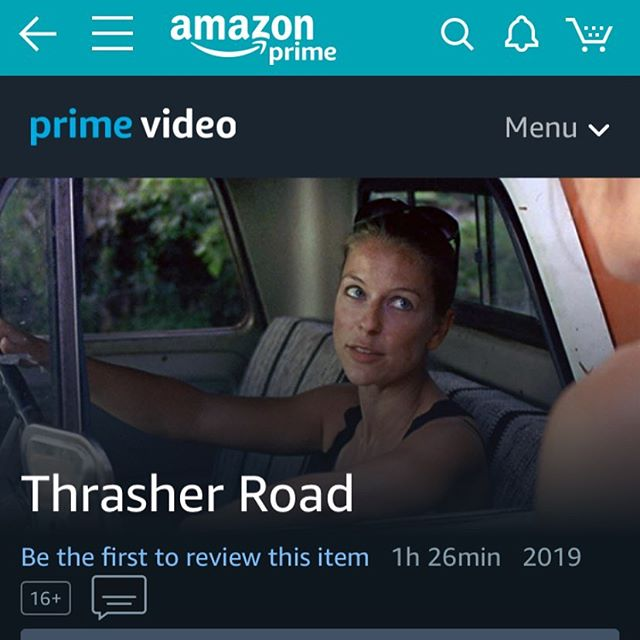And...we're streaming!  Rent or buy Thrasher Road now on Amazon or YouTube!  Amazon bit.ly/thrasherroadmovie  YouTube bit.ly/thrasherroadyoutube.  Spread the word & leave a review!  #indiefilm #thrasherroad  #premiere #roadmovie #ShotOnFilm #S16mm #dogmovie #femalefilmmakers
