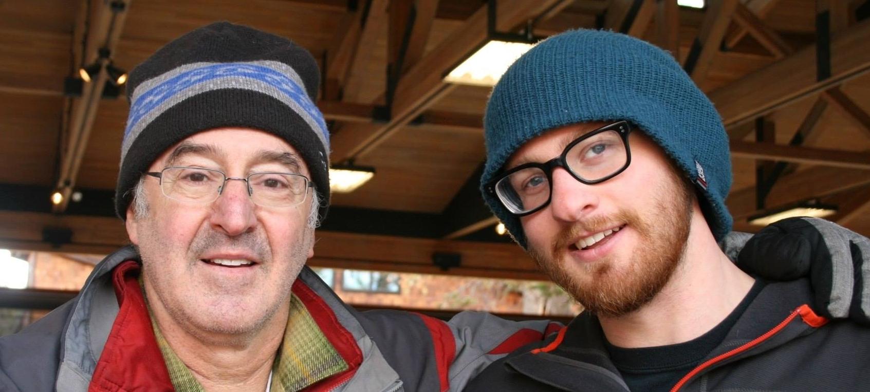 Steve and Ben Lebwohl,