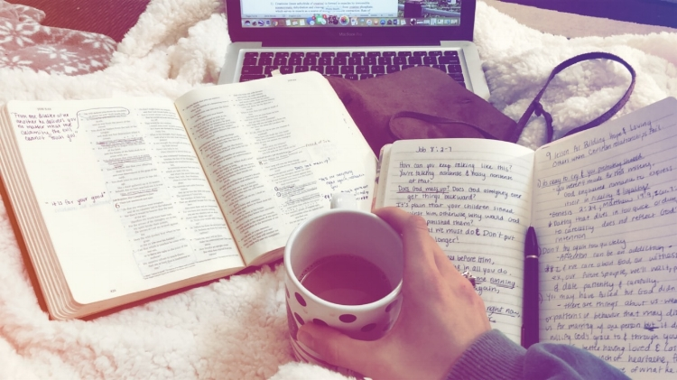 My quiet time is one of my simplest joys. Reading scripture and journaling thoughts & prayers bring me SO much joy. My most peaceful and productive days are ones I start with a quiet time.