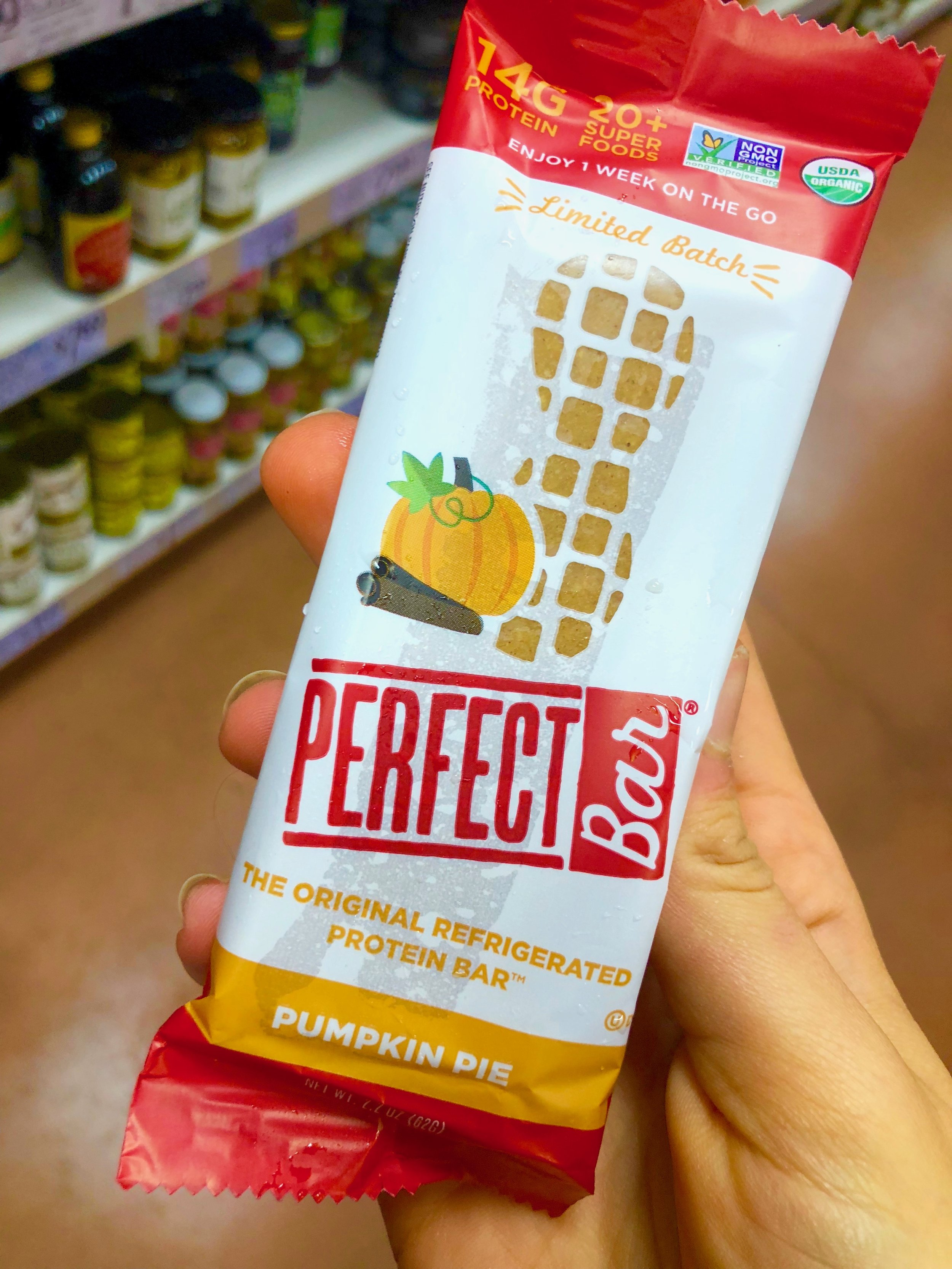 My beloved Perfect Bars. Oh how delicious are you. You can buy this other places besides TJ, but I haven't seen the Pumpkin Pie flavor anywhere else so naturally I had to get it. Just a good, quick breakfast option or bigger snack. Haven't tried it yet, but oh trust me- my instagram followers will know when I do.