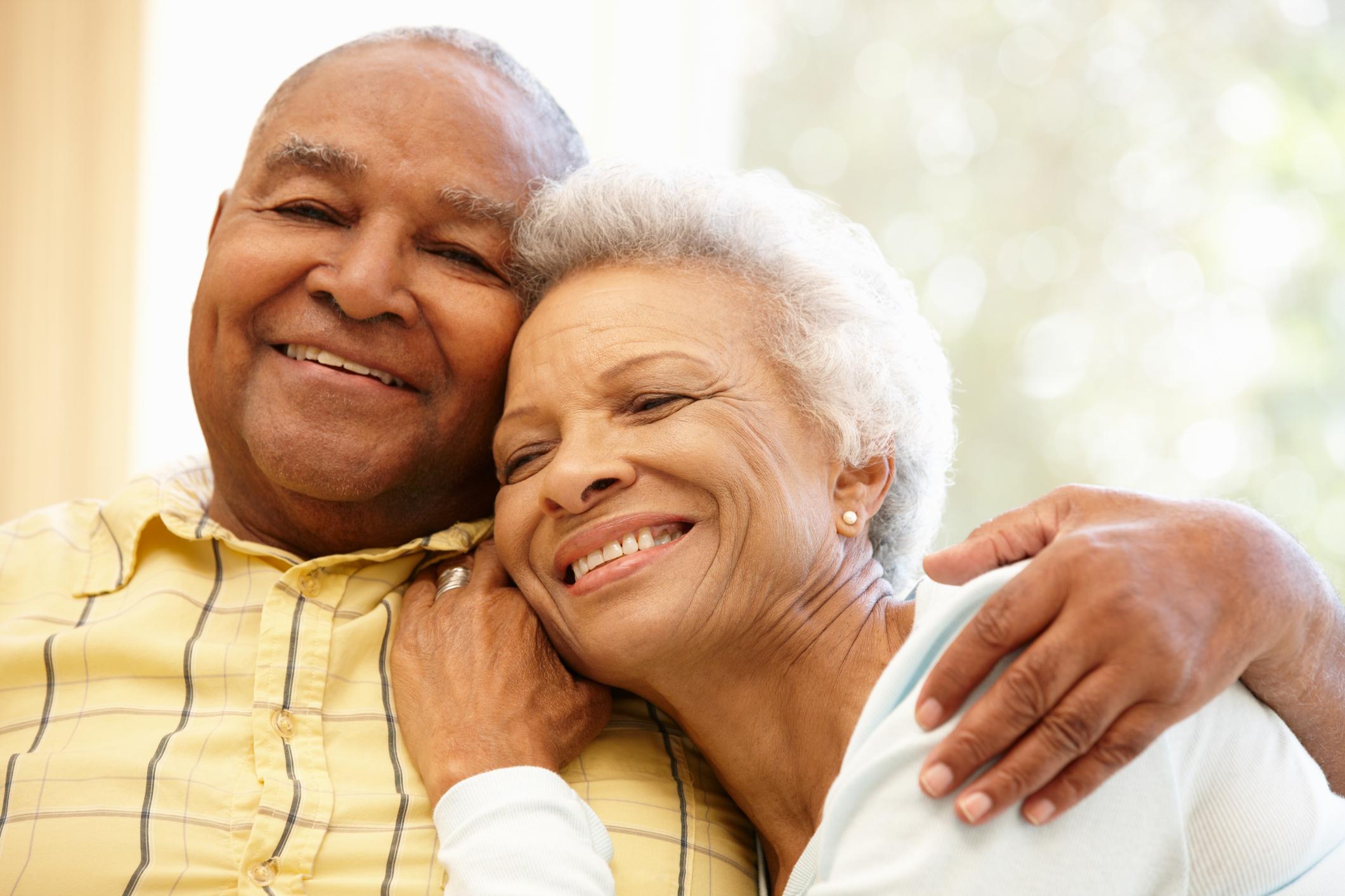 Senior Citizen Couple