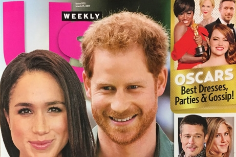 Featured in Us Weekly Magazine