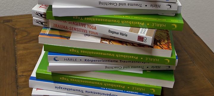 Books on Trauma Sensitive Yoga, Dagmar Härle -