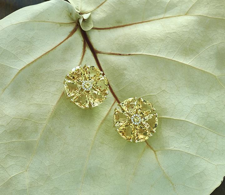 Citrine Flower Earring Sea Grape_LR.jpg