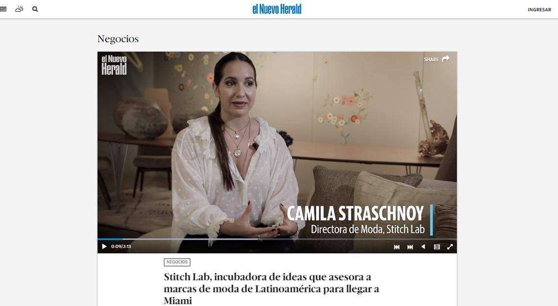 EL NUEVO HERALD - Así es Stitch Lab, incubadora de ideas que asesora a marcas de moda de Latinoamérica para llegar a Miami.