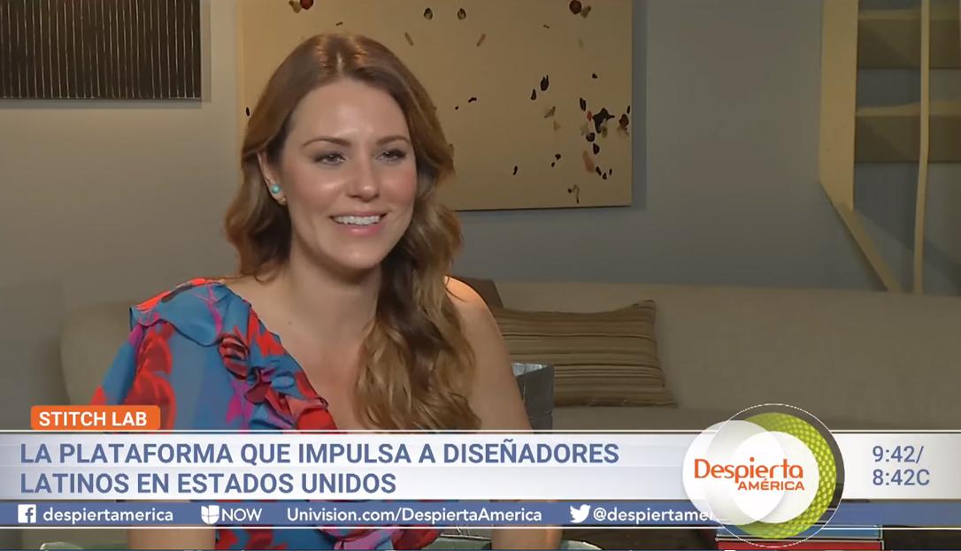 Despierta america - Tras haber trabajado muchos años en televisión y ser parte de la familia #DespiertaAmérica, Karina Rosendo decidió emprender esta nueva labor con gran éxito.