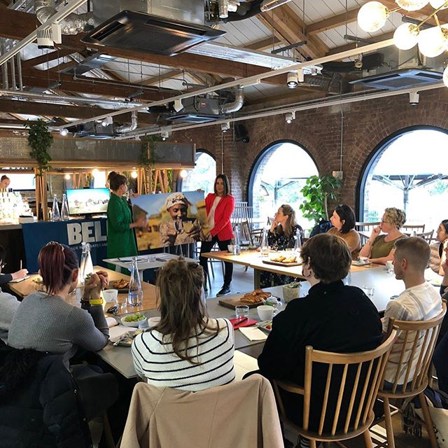 Massive thanks to @beluwater and everyone who came to their sustainable water breakfast seminar today 💧 An amazing ethical cause, and one we're really proud to be affiliated with ❤️