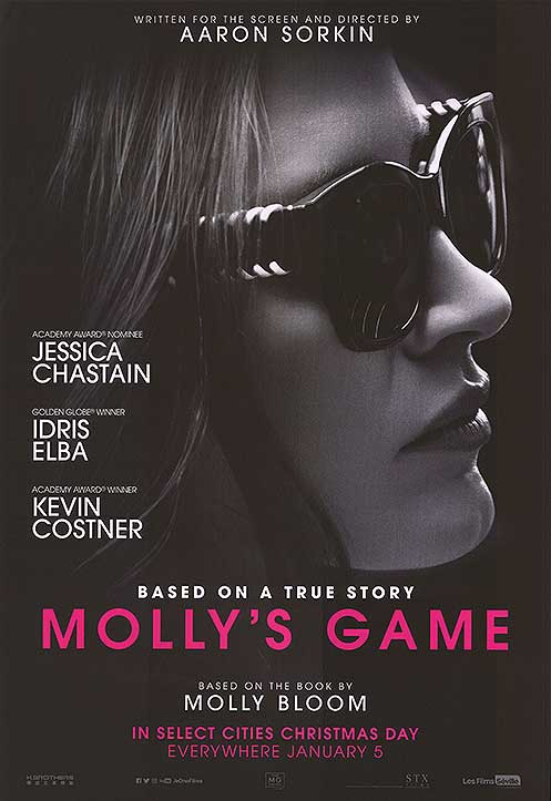 Written and Directed by Aaron Sorkin - Based on the book by Molly Bloom