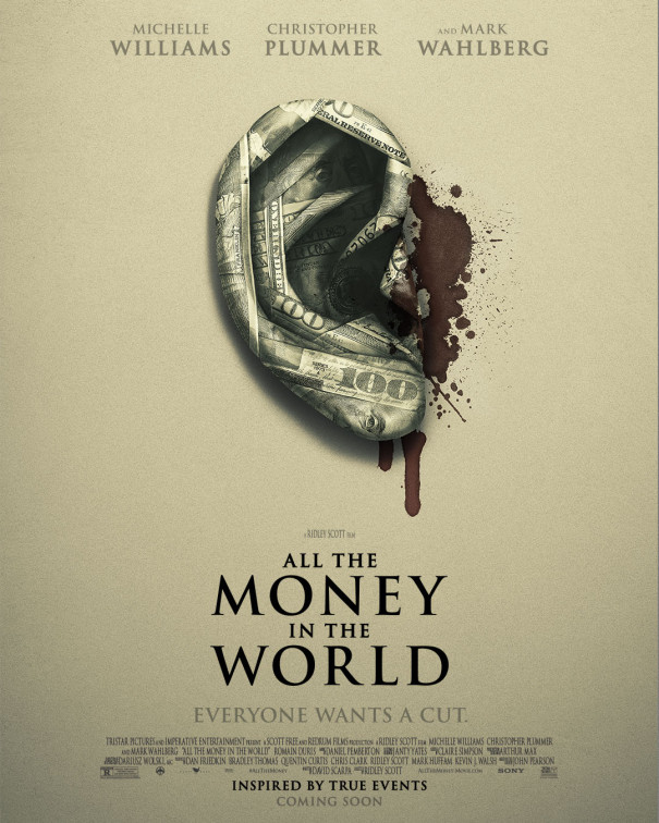 Directed by Ridley Scott - Written by David Scarpa - Based on the book by John Pearson