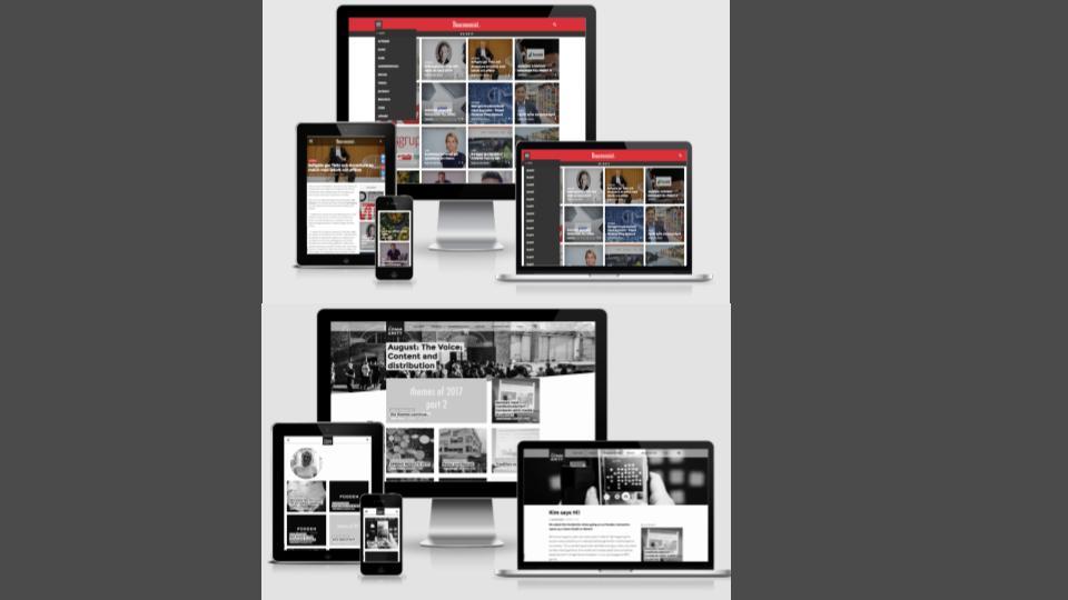 Multi-channel publishing options