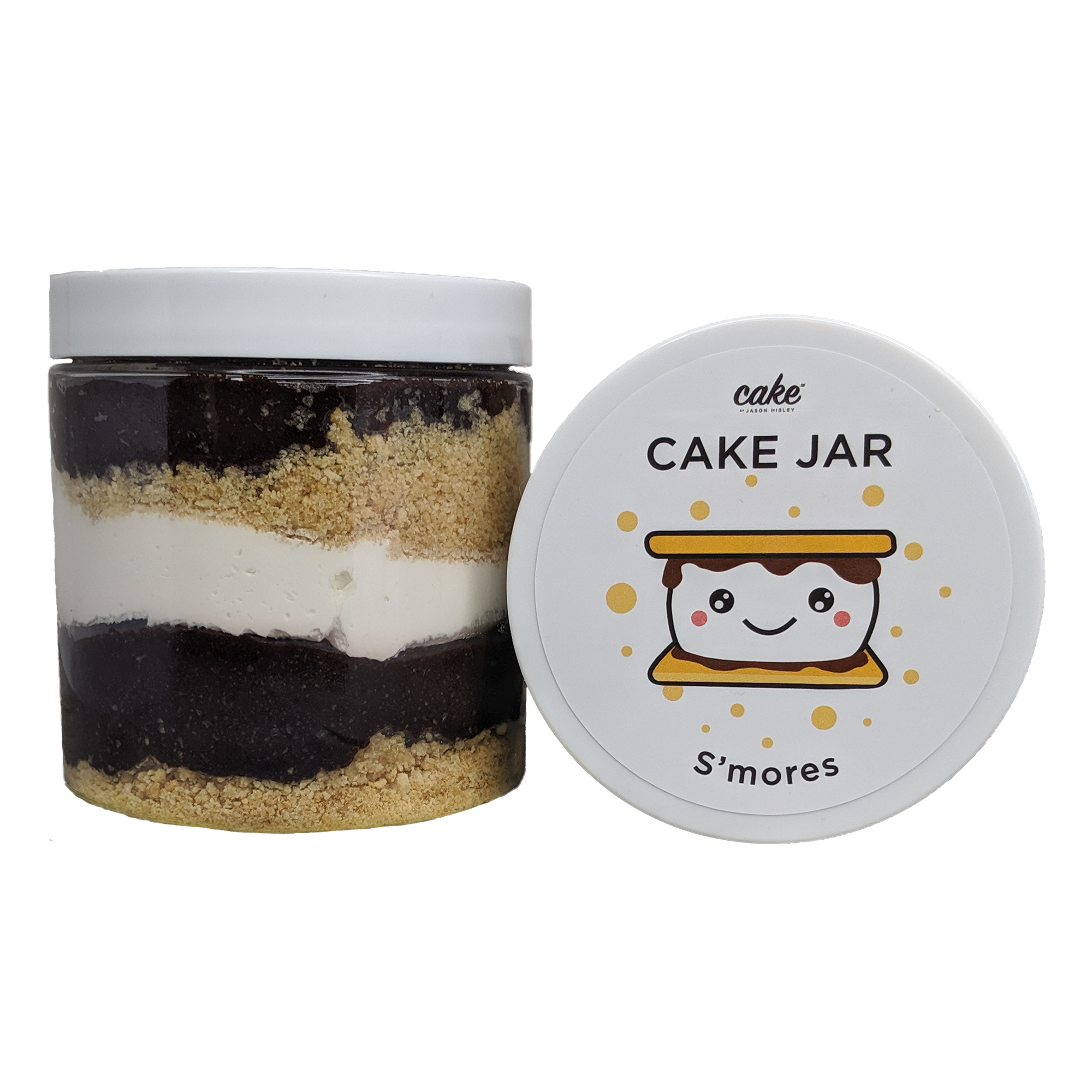 S'mores Cake Jar