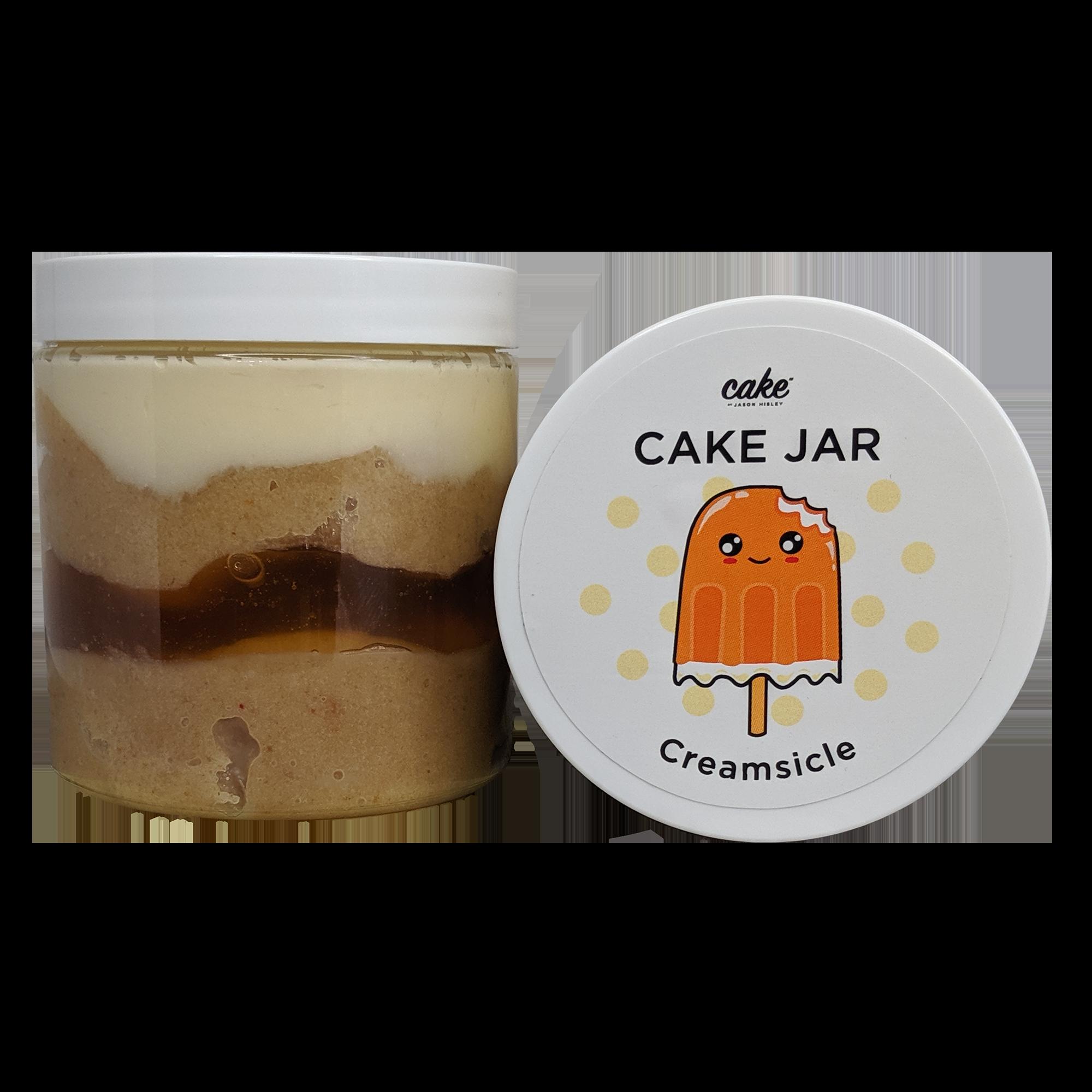 Creamsicle Cake Jar