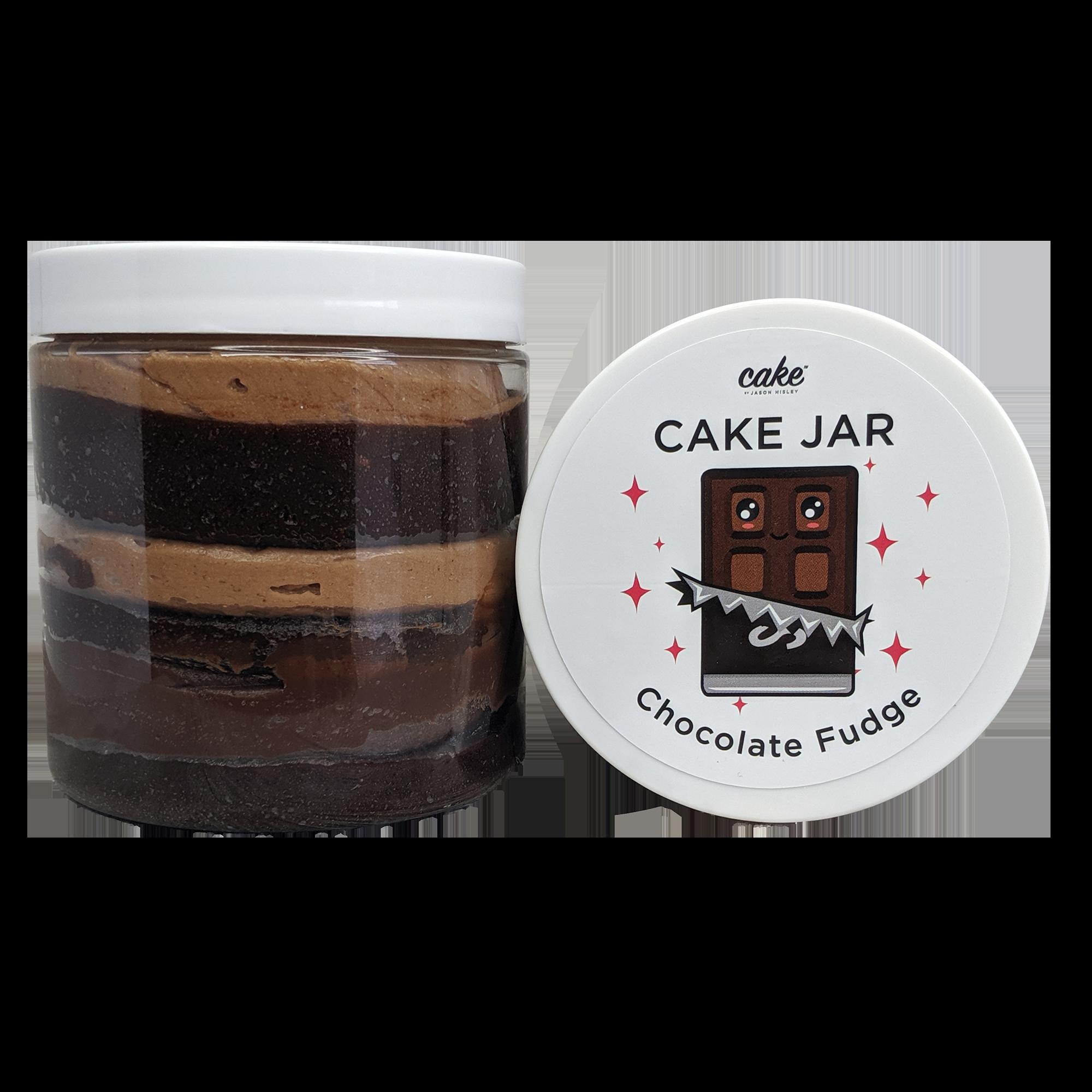 Chocolate Fudge Cake Jar