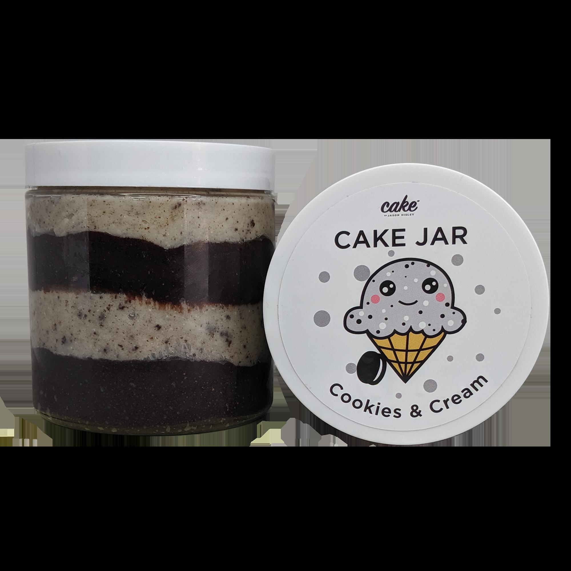 Cookies and Cream Cake Jar