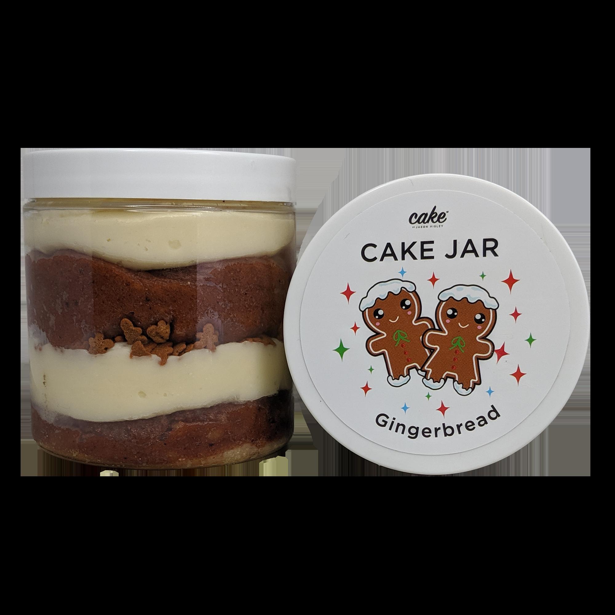 Gingerbread Cake Jar