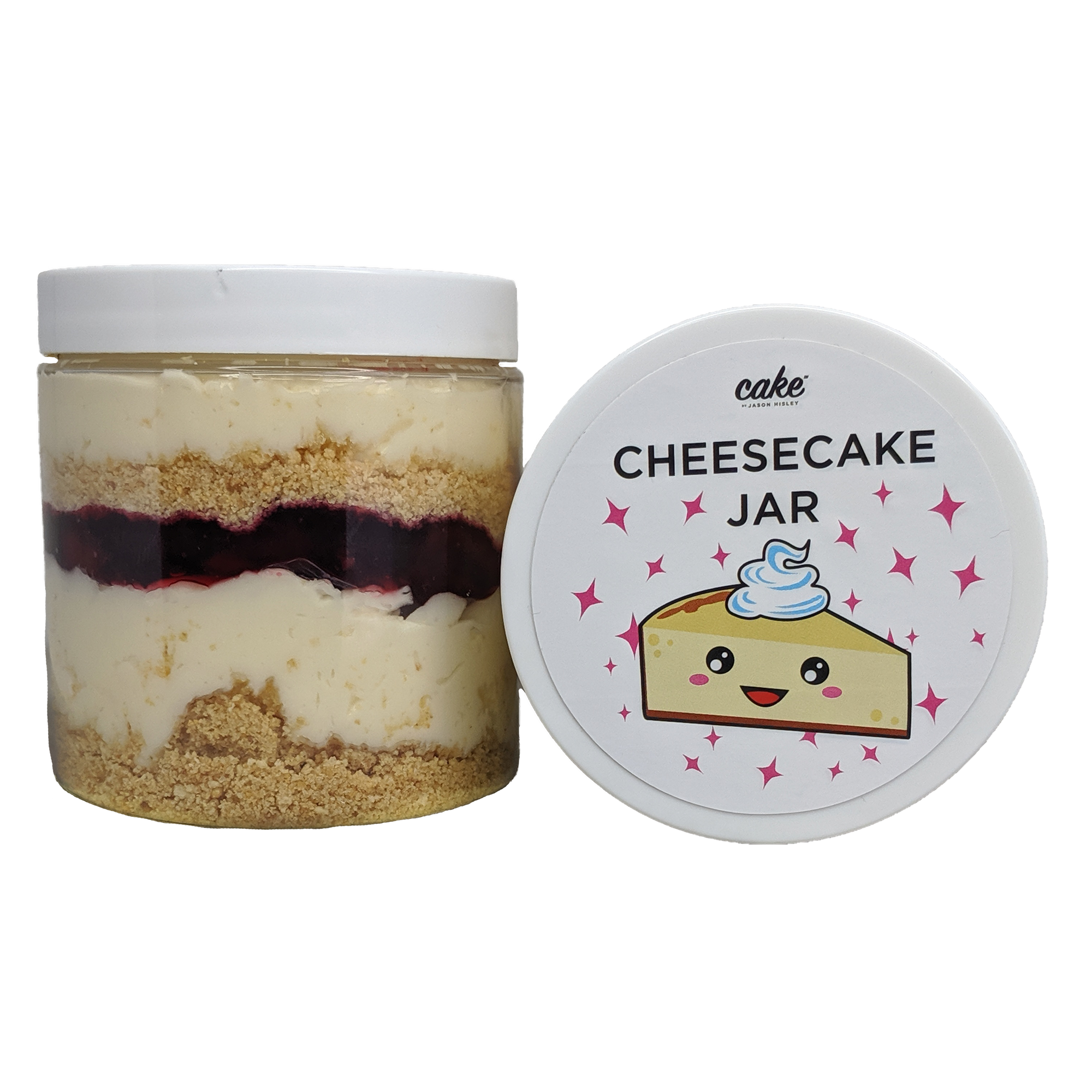 Cheesecake Cake Jar