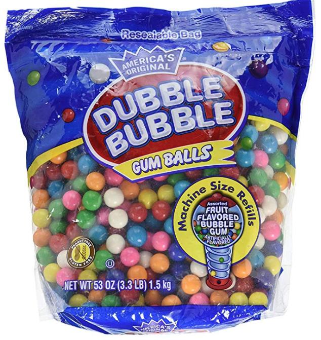 Dubble Bubble 2 pack -3.3 lbs Each