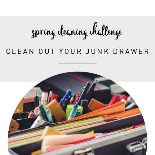 Clean out that junk drawer…you know the one…we ALL have one.