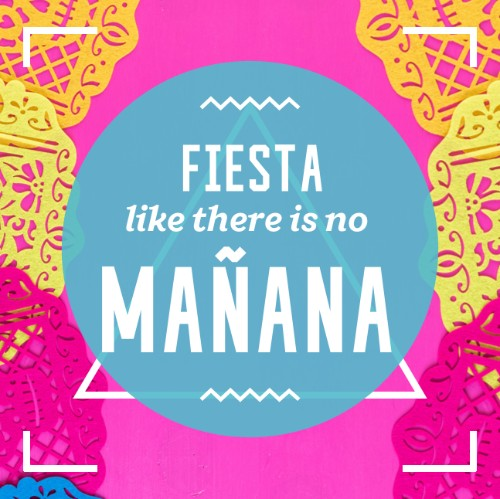 May 5 - Cinco de Mayo   Search:  Fiesta  Question: What comes first, the siesta or the fiesta? Answer: The Margaritas. But seriously Cinco de Mayo is more than a party, or a celebration for the Anniversary of the Battle of Puebla. It's also love for a culture and people. Celebrate with fun and check out this video of what it's all about from ABC:  https://www.youtube.com/watch?v=tJmlUljRWDw