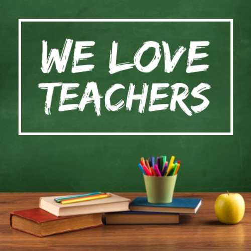 May 7 - Thank a Teacher Day   Search:  Teacher  We all have had a favorite teacher. I still remember (name of a favorite teacher/PEP) and how much they influenced me. Thanks to all the wonderful teachers we have, and a big thanks to the teachers at (name of nearby school district) for helping our community flourish.