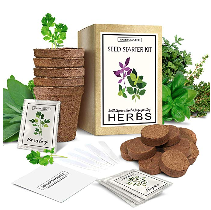 Or purchase these  herb growing kits  from Amazon