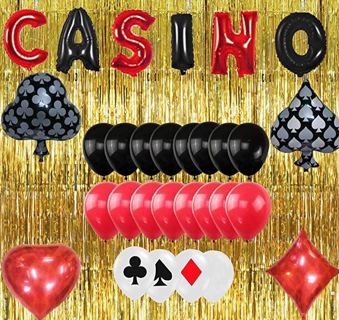Grab this fun casino decoration set here