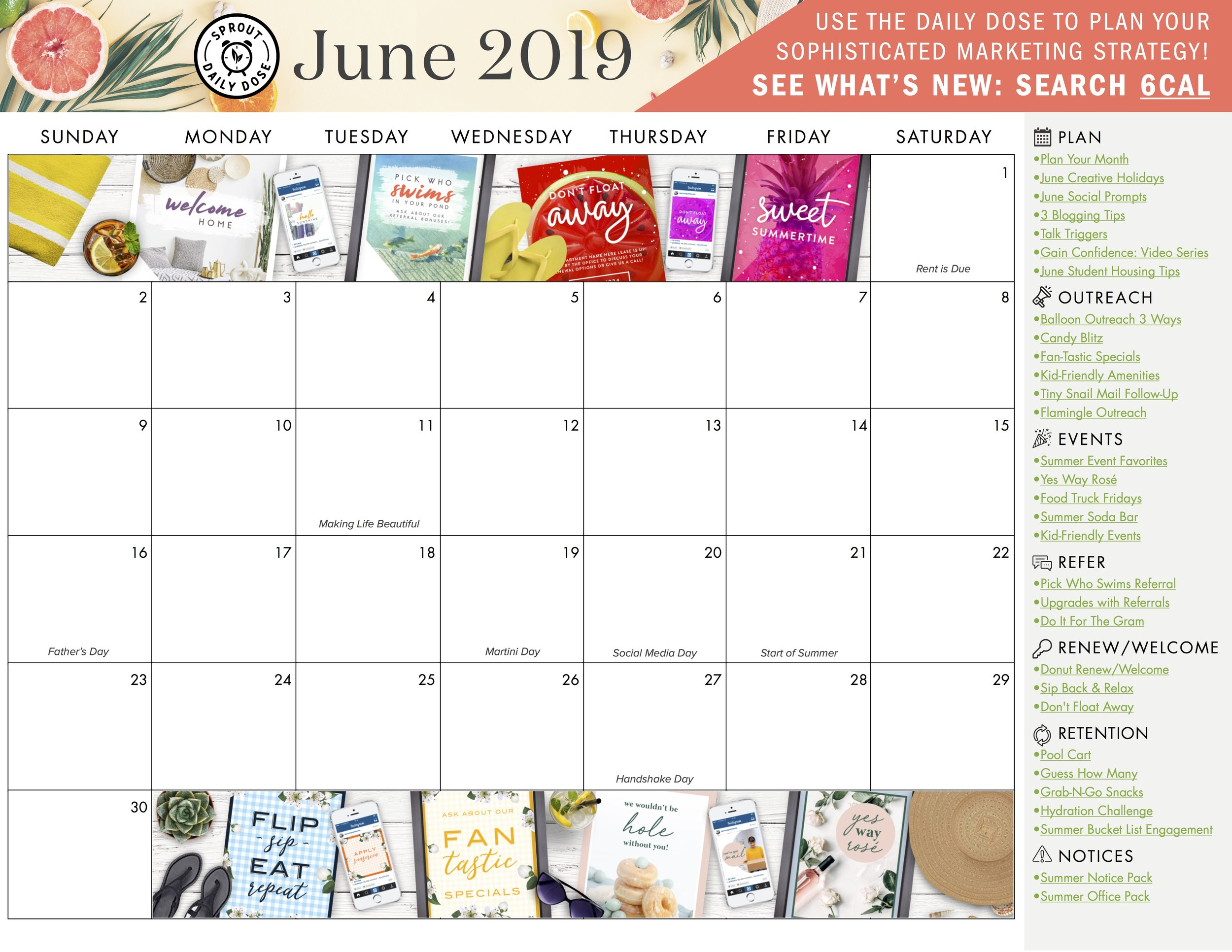 Grab the blank monthly calendar here