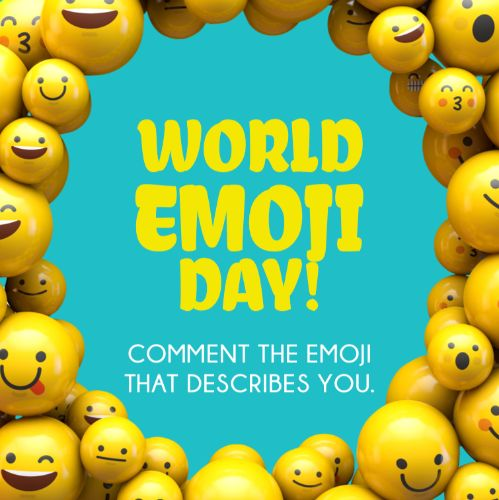 July 17th - #WorldEmojiDay   Search:  Emoji  📅🌎 = ✌️ + 💞 + 😉#worldemojiday In the comments, tag a friend and what emoji best represents them! _______ Apartments is best described with this emoji -  (insert emoji here).